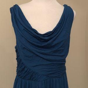 Anthropologie Deletta Pezza Jersey Draped Dress